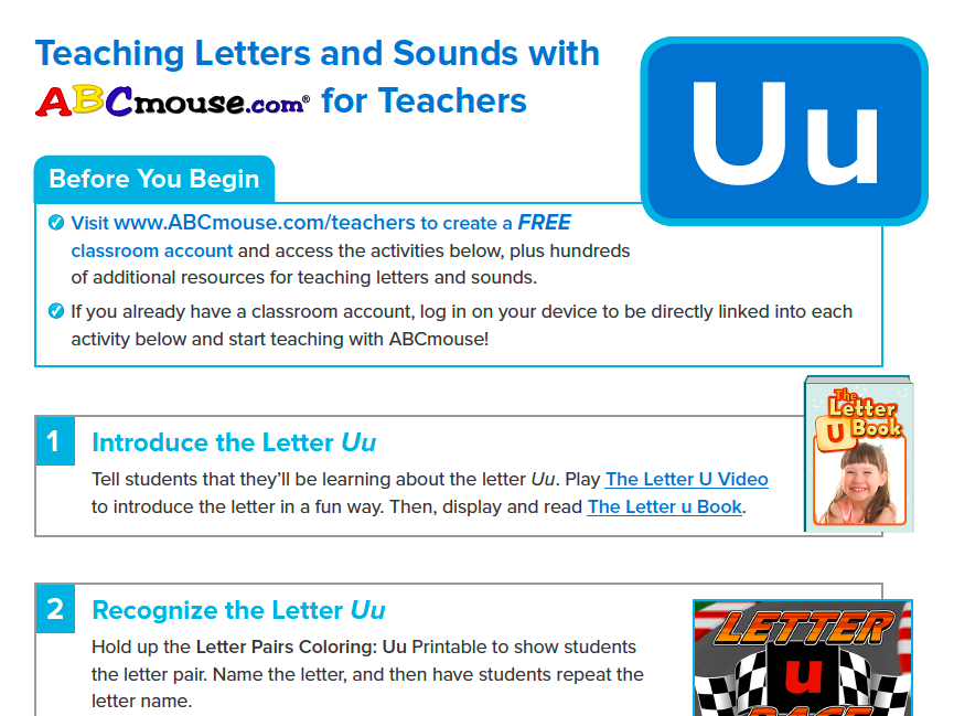 Letter Uu Collection