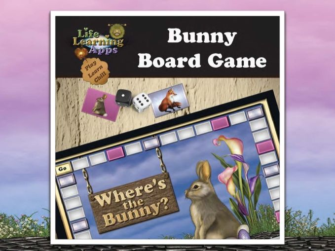 Where's the Bunny? Board Game