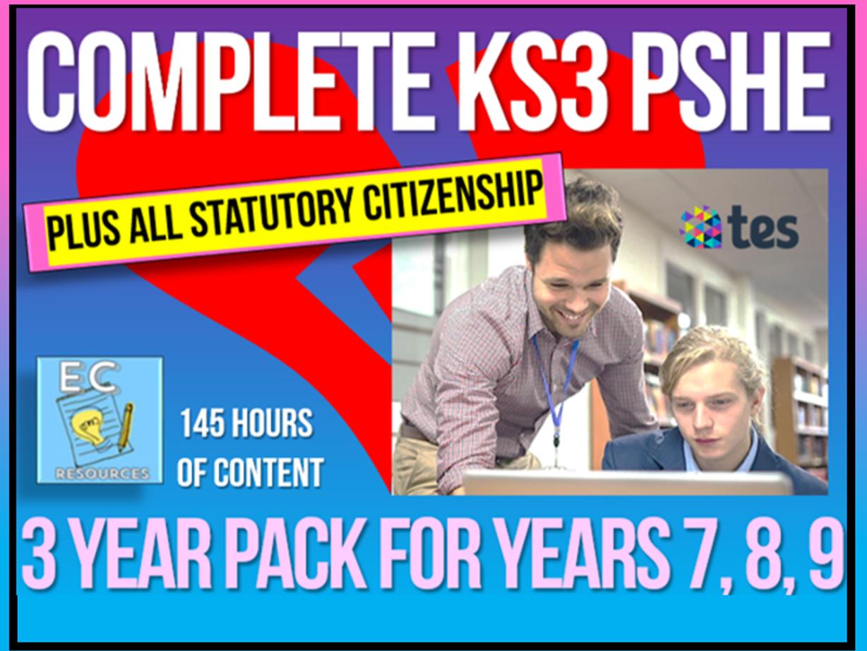 Complete KS3 PSHE + Citizenship