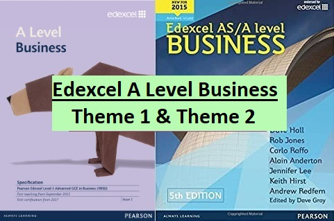 Edexcel A Level Business - Theme 1 and Theme 2