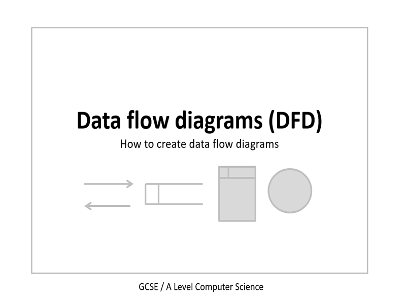 Data flow diagram presentation