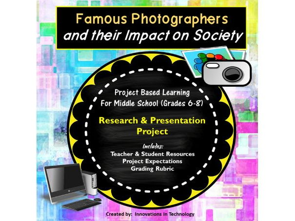 Famous Photographers - Research & Presentation Project
