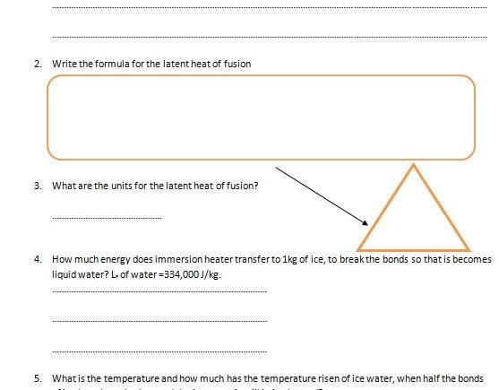 Gcse Physics Worksheet Specific Heat Capacity Definition Formula