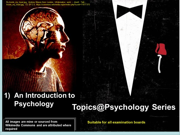 Topics@Psychology #1: An Intro to Psychology, suitable for all exam boards)