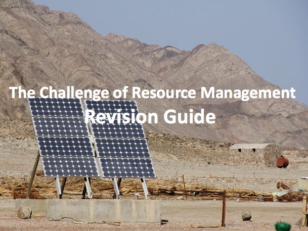 The Challenge of Resource Management - Revision Guide AQA GCSE