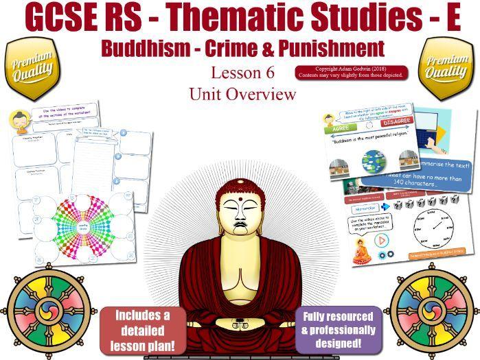L6 - GCSE Buddhism - Forgiveness , Crime, Capital Punishment (Crime & Punishment) Theme E