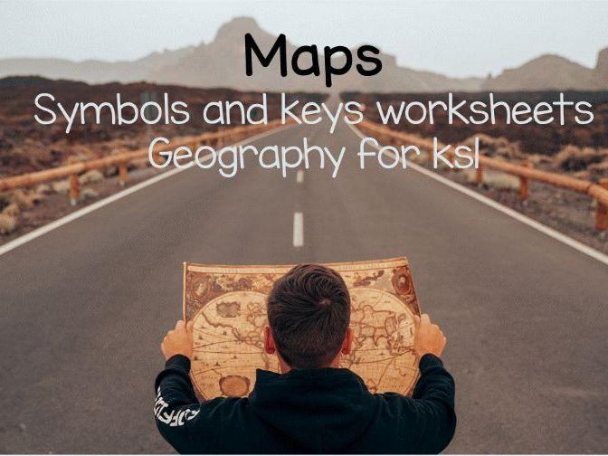 Maps Symbols and Keys worksheets ks1