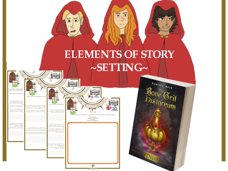 Elements of Story - Setting to accompany the bestselling middle grade novel, Miist by Kamilla Reid