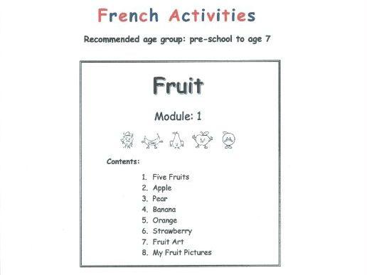 Fruit - FRENCH (Module 1)