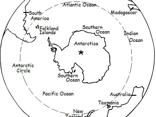 The South Pole - Printable handout