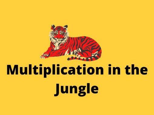Multiplication in the Jungle-Worksheet