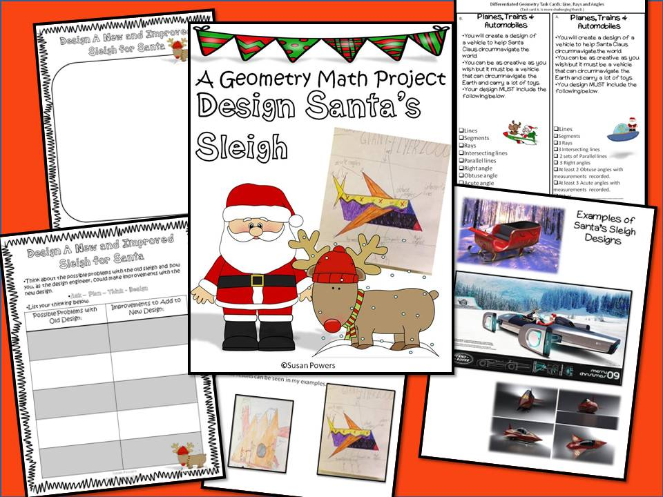 Design Santa's Sleigh with Geometry & Measure