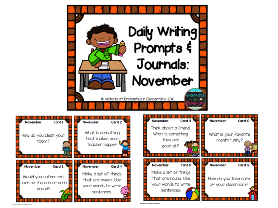 classroom writing prompts Free, printable kindergarten writing prompts for your students in the classroom or at home fun, creative prompts to develop strong writing skills.