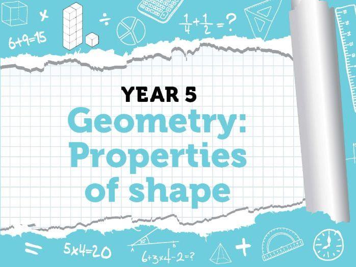 Year 5 - Geometry - Property of Shape - Week 7 - Summer - Block 2 - White Rose