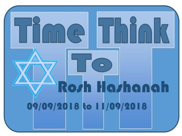 ROSH HASHANAH Assembly September 2018