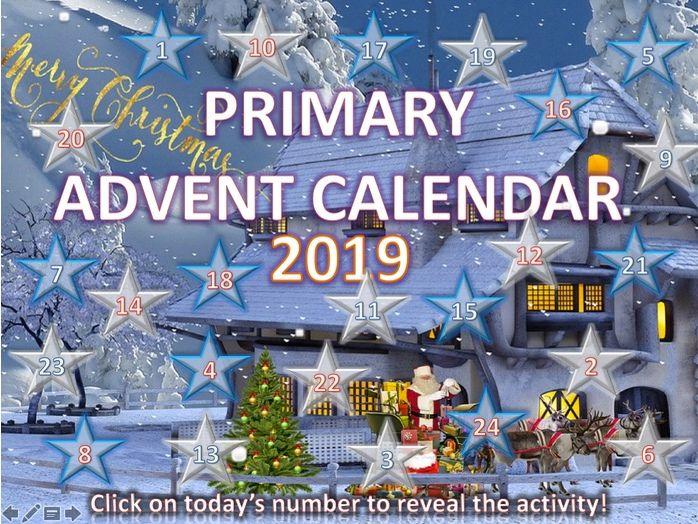 Primary Christmas Quiz Advent Calendar
