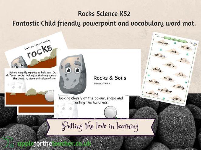 Rocks Science Topic Year 3 KS2
