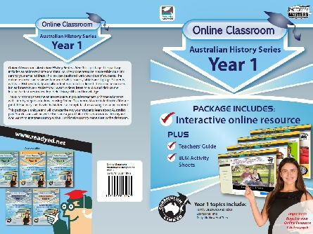 Online Classroom: Australian History Series - Year 1