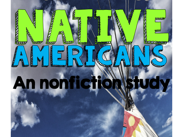 A Native American Non-fiction unit