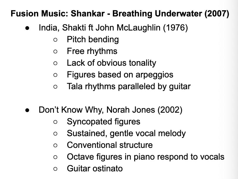 Edexcel A Level Music: Shankar Further Works