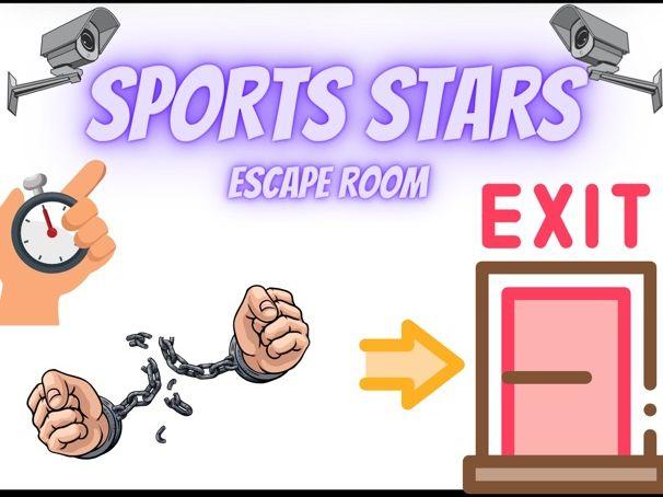 Sports Stars Escape Room