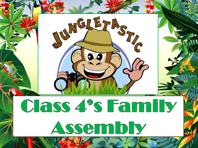 'Jungletastic' rainforest assembly script and accompanying powerpoint