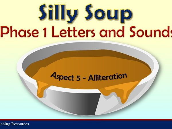 Silly Soup - Letters and Sounds Phase 1