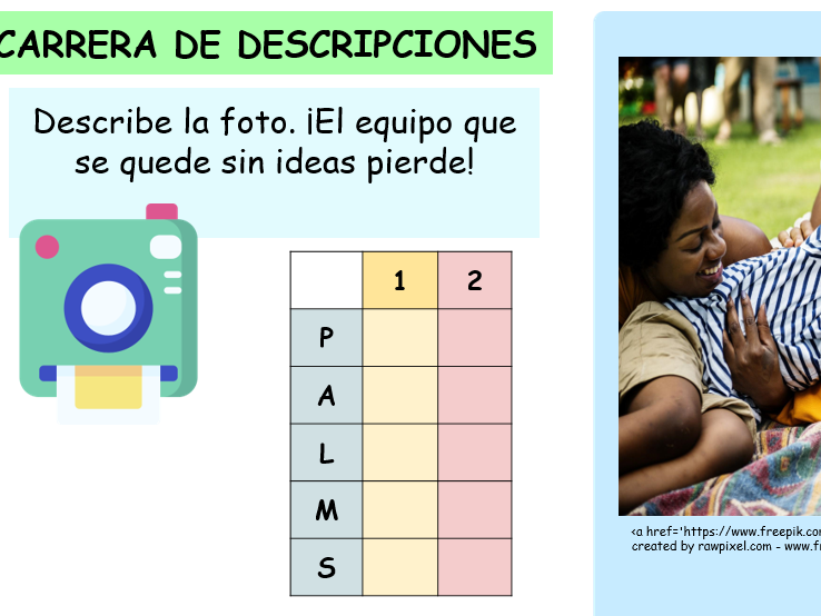 KS4 Relationships with family and Friends Spanish GCSE (Found and Higher).
