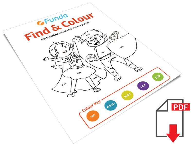 Find & Colour
