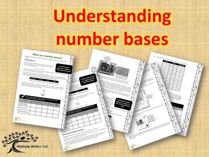 Understanding Number Bases GCSE Revision and KS3 data Representation introduction