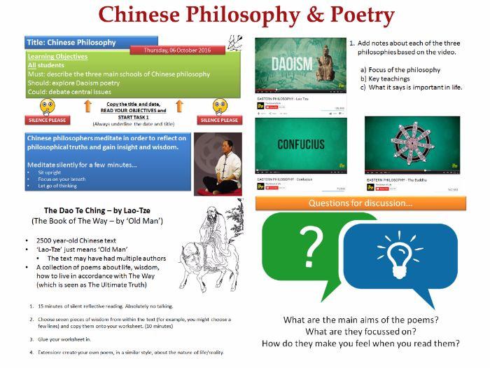 chinese philosophy and poetry Poetry - shi 詩 and ci 詞 poetry played a very important role in chinese literature throughout the ages the two most popular patterns of chinese poetry are shi 詩 poetry and ci 詞 poetry the first was the regular style of poetry (lüshi 律詩) that matured under tang but was still in use in the 20th century.