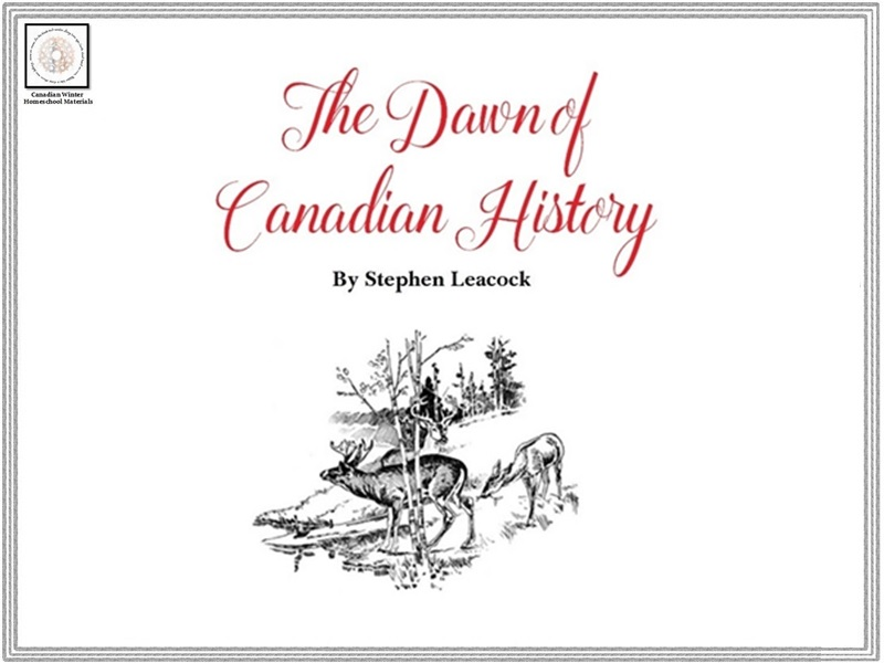 Think About History: The Dawn of Canadian History