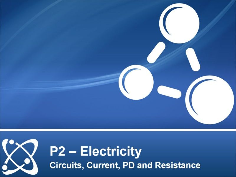 NEW AQA PHYSICS GCSE - ELECTRICITY - Lesson 1 – Circuits, Current, PD and Resistance