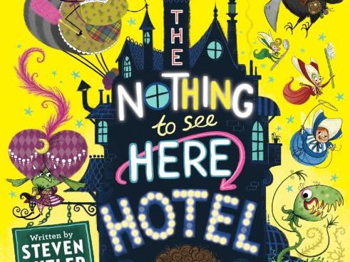 The Nothing to See Here Hotel - Steven Butler & Steven Lenton - Drawing Activity