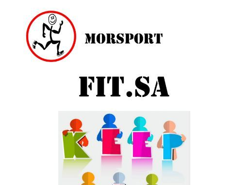 Morsport - FIT.SA - REVISED - Health, Wellness & Fitness Schools / Country Program