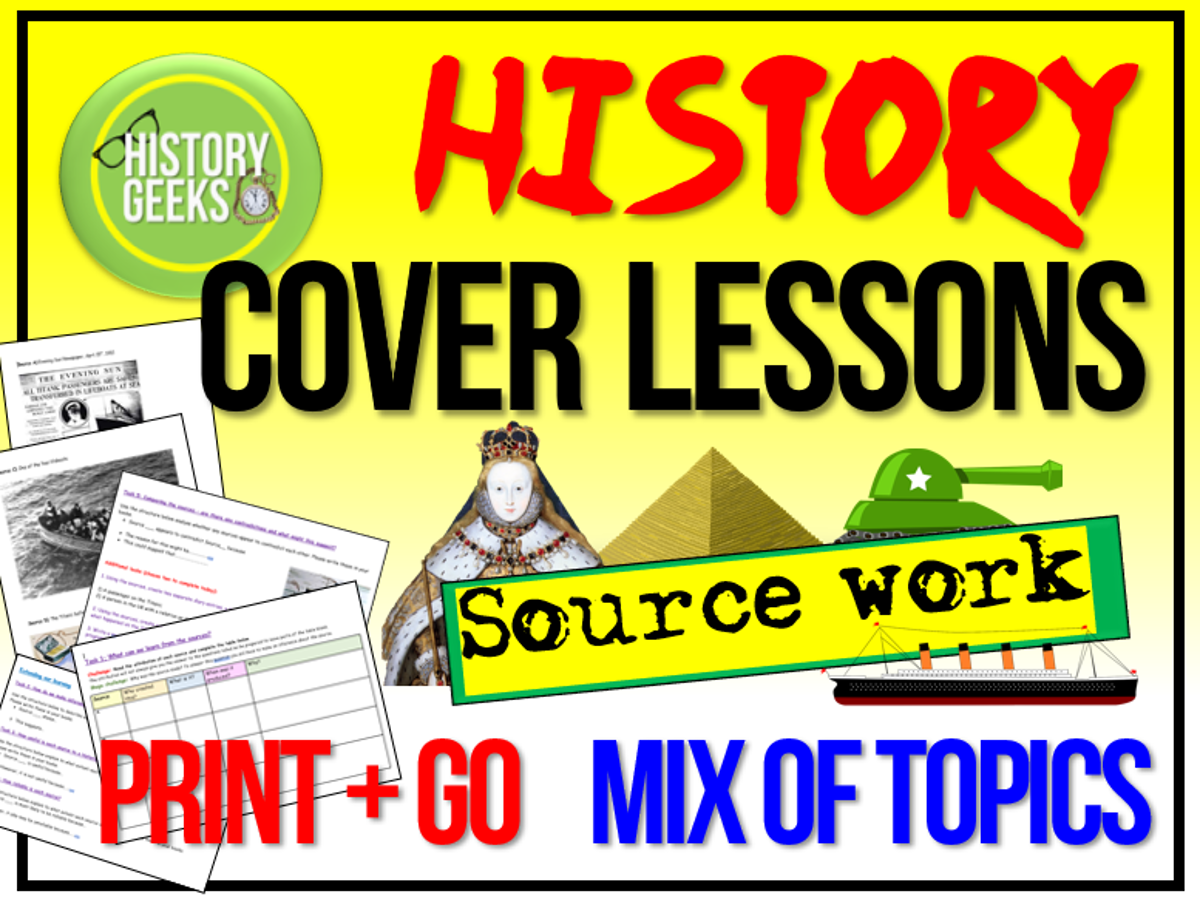 History Cover Work