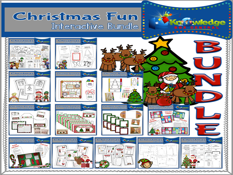 Christmas FUN Interactive BUNDLE