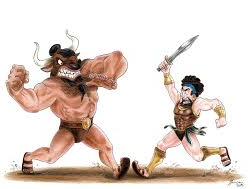 Model Text Theseus and the Minotaur: Talk for writing Defeating The Monster Tale