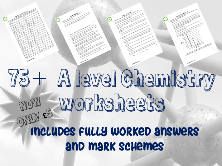 A Level Chemistry Year 1 Package