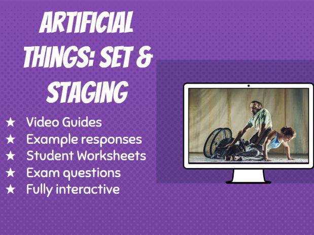 GCSE Dance Artificial Things Video Guide: Set Design and Performance Environment