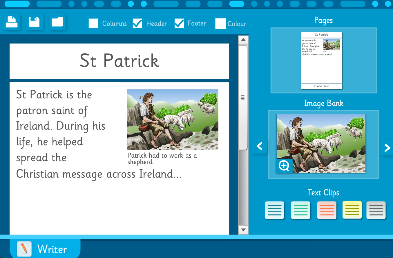 Newspaper Template: St Patrick News - St Patrick's Day KS1