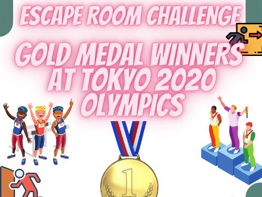 Tokyo 2021 Gold Medal Winners