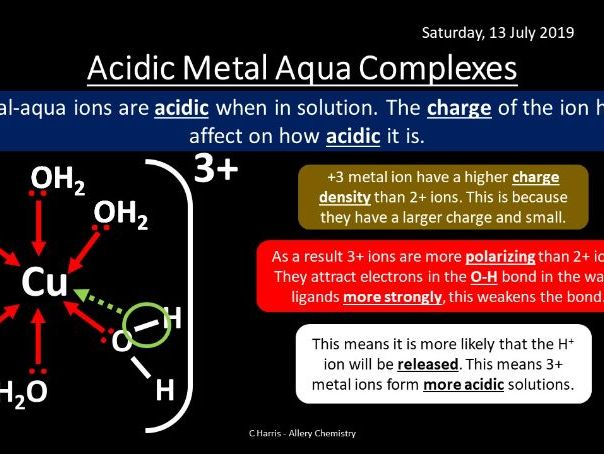 NEW AQA Yr2 Reactions of Ions in Aqueous Solutions Revision