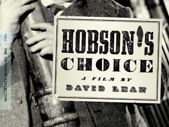 Hobson's Choice Scheme