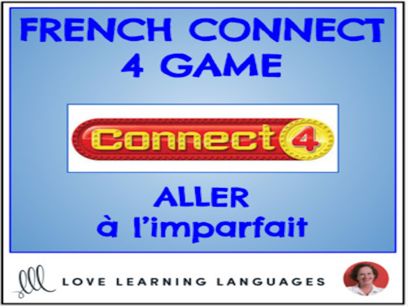 ALLER - Imperfect Tense - French Connect 4 Game