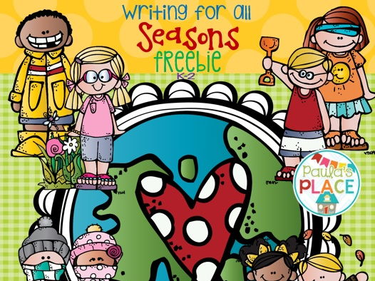 Seasons - Writing Tasks