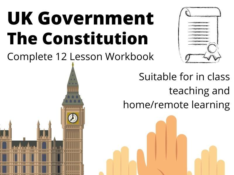 UK Constitution Complete Workbook A Level Politics