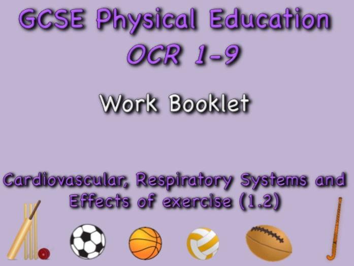 GCSE OCR PE (1.2) Physical Training  Work Booklet