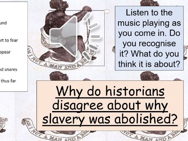 Abolition of Slave Trade (Lesson & Assessment)