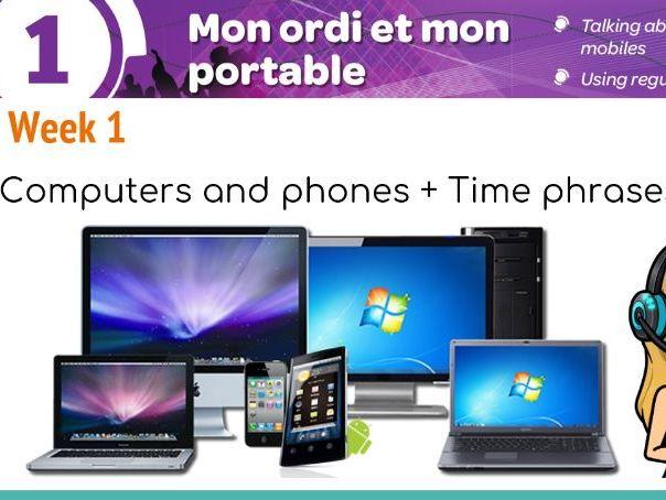 Studio 1 module 3 unit 1 Mon ordi et mon portable